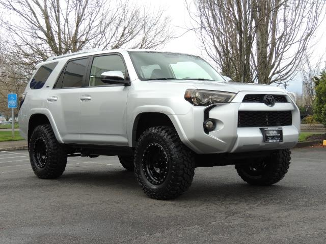 2016 Toyota 4Runner SR5  4X4  THIRD ROW SEAT  LIFTED LIFTED