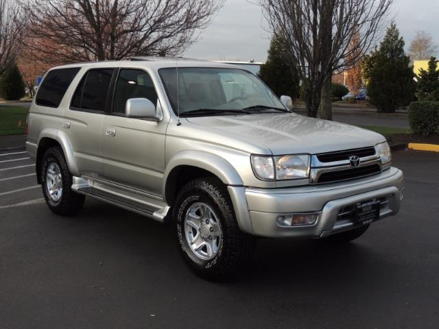 2002 toyota 4runner sr5 limited leather 4wd moon roof v6. Black Bedroom Furniture Sets. Home Design Ideas