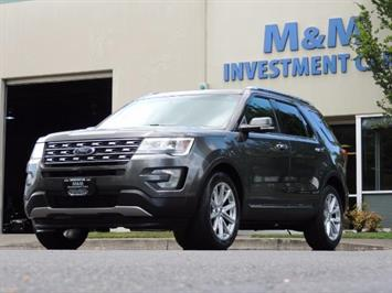 2016 Ford Explorer Limited / AWD / Navigation / Backup Cam / 3RD SEAT SUV