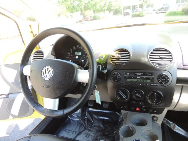 2001 Volkswagen Beetle GLX 1.8T Only 34,600 Original Miles Heated leather - Photo 18 - Portland, OR 97217