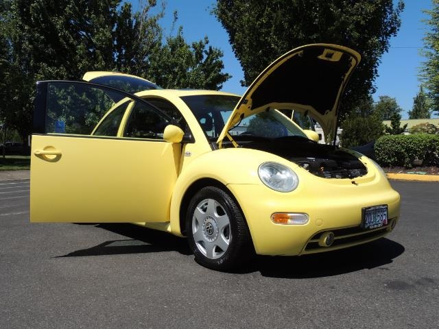 2001 Volkswagen Beetle GLX 1.8T Only 34,600 Original Miles Heated leather - Photo 30 - Portland, OR 97217