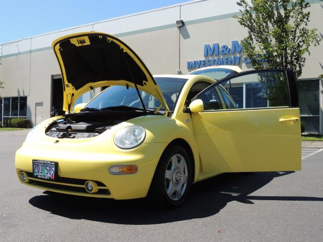 2001 Volkswagen Beetle GLX 1.8T Only 34,600 Original Miles Heated leather - Photo 26 - Portland, OR 97217