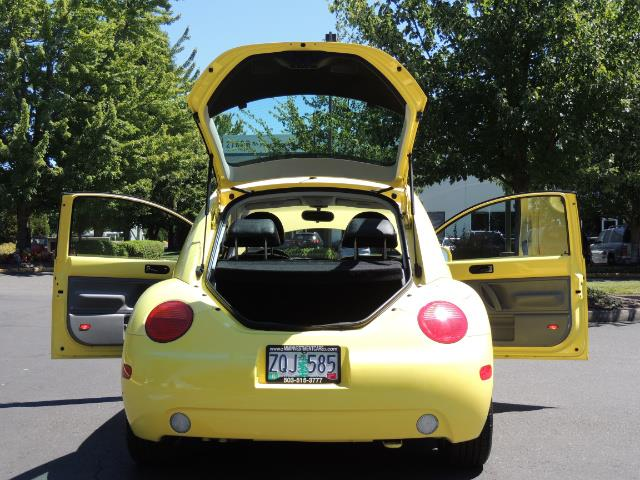 2001 Volkswagen Beetle GLX 1.8T Only 34,600 Original Miles Heated leather - Photo 10 - Portland, OR 97217