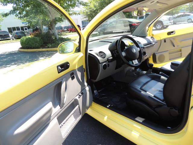 2001 Volkswagen Beetle GLX 1.8T Only 34,600 Original Miles Heated leather - Photo 13 - Portland, OR 97217
