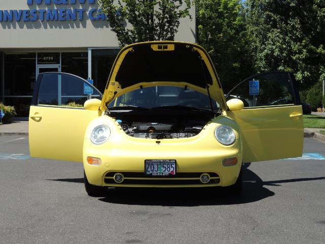 2001 Volkswagen Beetle GLX 1.8T Only 34,600 Original Miles Heated leather - Photo 31 - Portland, OR 97217