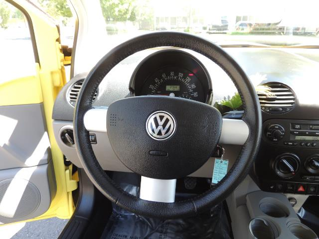2001 Volkswagen Beetle GLX 1.8T Only 34,600 Original Miles Heated leather - Photo 35 - Portland, OR 97217