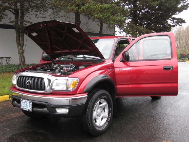 2002 toyota tacoma double cab 4x4 trd off road diff lock 1 owner. Black Bedroom Furniture Sets. Home Design Ideas