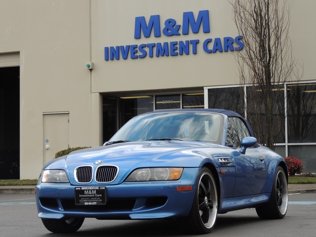 1998 BMW M Roadster  Coupe Z3  M Roadster Convertible 5Speed manual
