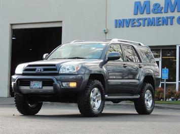 2003 Toyota 4Runner LIMITED / V6 4WD / LEATHER / DIFF LOCK / LIFTED !! SUV