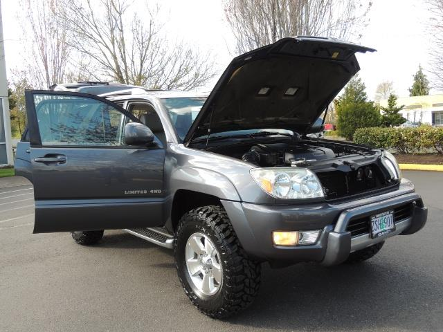 2003 toyota 4runner limited v6 4wd leather diff lock lifted. Black Bedroom Furniture Sets. Home Design Ideas