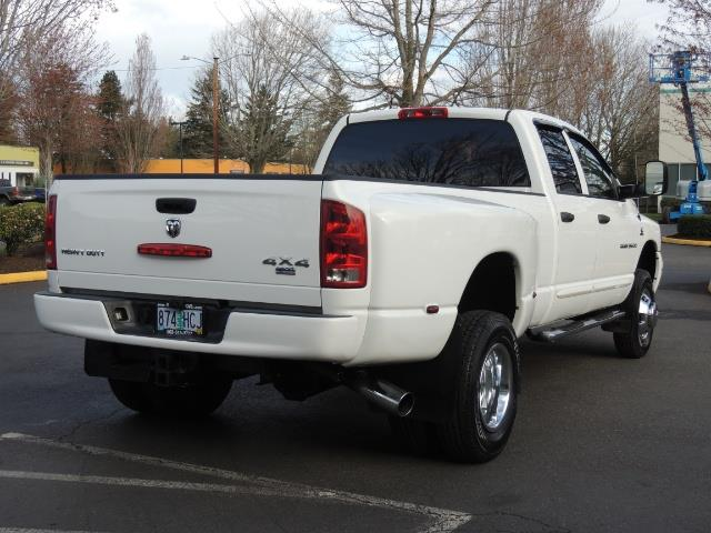 2006 Dodge Ram 3500 SLT / 4X4 / 5.9L CUMMINS DIESEL / LEATHER / DUALLY - Photo 8 - Portland, OR 97217