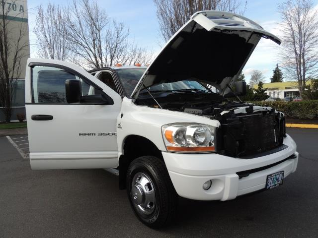 2006 Dodge Ram 3500 SLT / 4X4 / 5.9L CUMMINS DIESEL / LEATHER / DUALLY - Photo 33 - Portland, OR 97217