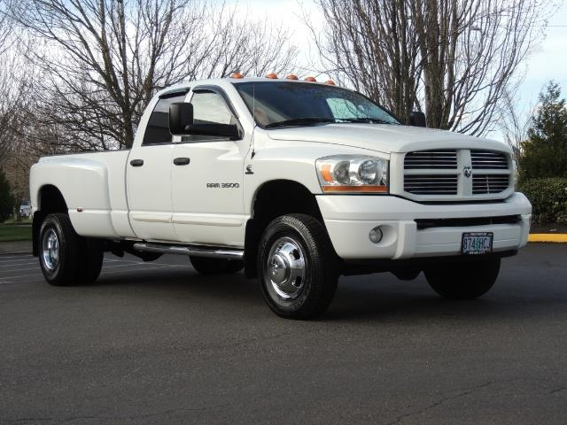 2006 Dodge Ram 3500 SLT / 4X4 / 5.9L CUMMINS DIESEL / LEATHER / DUALLY - Photo 2 - Portland, OR 97217