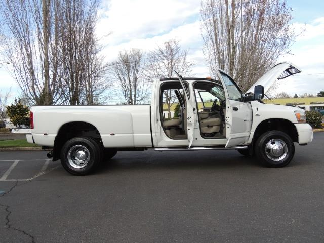 2006 Dodge Ram 3500 SLT / 4X4 / 5.9L CUMMINS DIESEL / LEATHER / DUALLY - Photo 32 - Portland, OR 97217