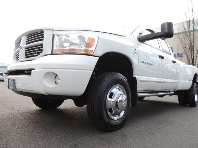 2006 Dodge Ram 3500 SLT / 4X4 / 5.9L CUMMINS DIESEL / LEATHER / DUALLY - Photo 9 - Portland, OR 97217