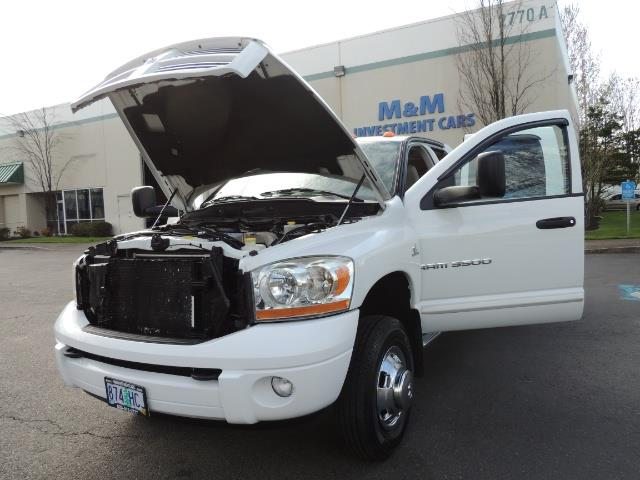 2006 Dodge Ram 3500 SLT / 4X4 / 5.9L CUMMINS DIESEL / LEATHER / DUALLY - Photo 25 - Portland, OR 97217