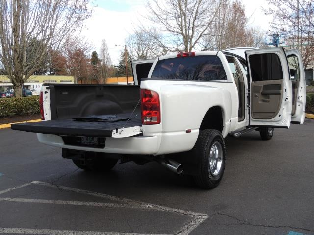 2006 Dodge Ram 3500 SLT / 4X4 / 5.9L CUMMINS DIESEL / LEATHER / DUALLY - Photo 31 - Portland, OR 97217