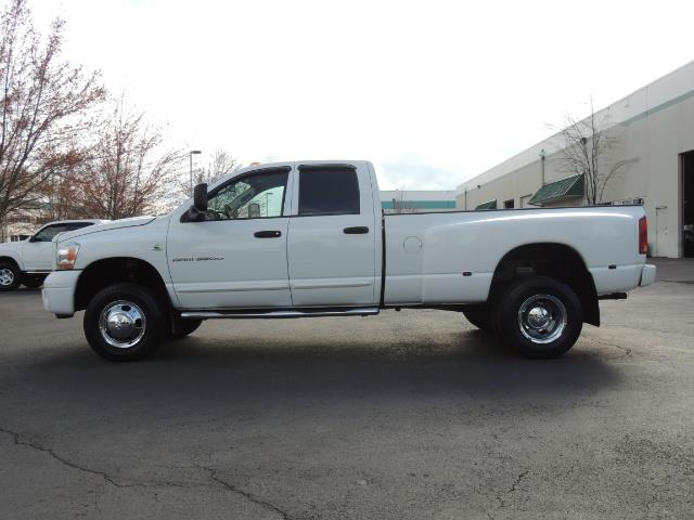2006 Dodge Ram 3500 SLT / 4X4 / 5.9L CUMMINS DIESEL / LEATHER / DUALLY - Photo 3 - Portland, OR 97217