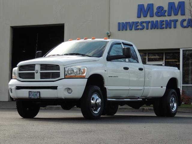 2006 Dodge Ram 3500 SLT / 4X4 / 5.9L CUMMINS DIESEL / LEATHER / DUALLY - Photo 40 - Portland, OR 97217