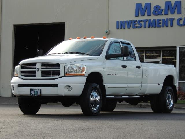 2006 Dodge Ram 3500 SLT / 4X4 / 5.9L CUMMINS DIESEL / LEATHER / DUALLY - Photo 1 - Portland, OR 97217