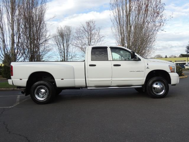 2006 Dodge Ram 3500 SLT / 4X4 / 5.9L CUMMINS DIESEL / LEATHER / DUALLY - Photo 4 - Portland, OR 97217