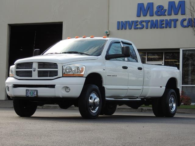 2006 Dodge Ram 3500 SLT / 4X4 / 5.9L CUMMINS DIESEL / LEATHER / DUALLY - Photo 46 - Portland, OR 97217
