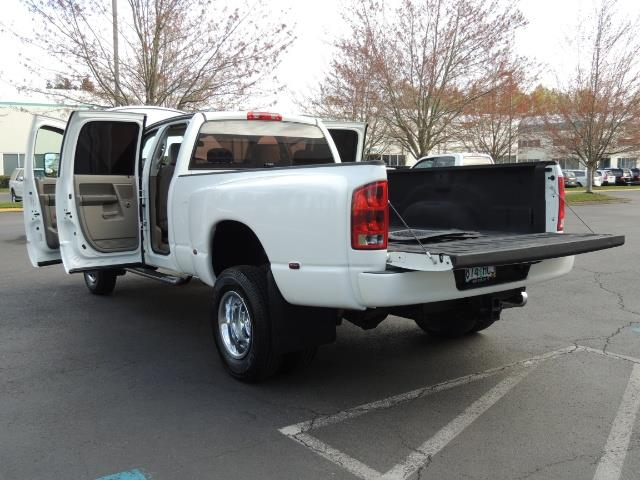 2006 Dodge Ram 3500 SLT / 4X4 / 5.9L CUMMINS DIESEL / LEATHER / DUALLY - Photo 27 - Portland, OR 97217
