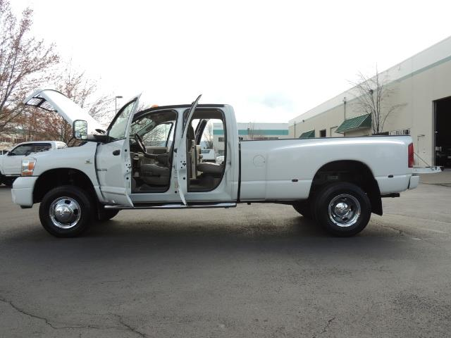 2006 Dodge Ram 3500 SLT / 4X4 / 5.9L CUMMINS DIESEL / LEATHER / DUALLY - Photo 26 - Portland, OR 97217