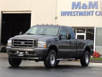 2002 Ford F-250 XLT 4X4 Power Stroke Turbo Diesel 7.3Liter 2-Owner Truck