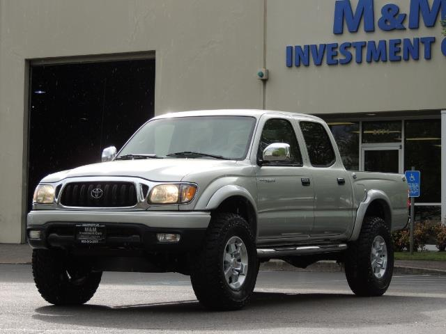 2002 Toyota Tacoma Limited V6 4dr Double Cab / 4X4 / RR DIFF LOCKS - Photo 34 - Portland, OR 97217