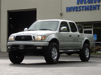 2002 Toyota Tacoma Limited V6 4dr Double Cab / 4X4 / RR DIFF LOCKS Truck