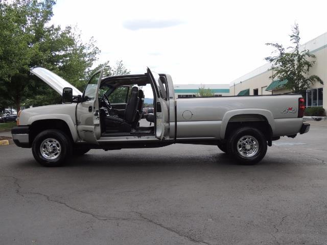 2006 Chevrolet Silverado 2500 LBZ 4X4 Long Bed 6.6L DURAMAX / Allison / 101K MLS - Photo 22 - Portland, OR 97217