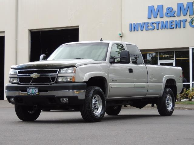 2006 Chevrolet Silverado 2500 LBZ 4X4 Long Bed 6.6L DURAMAX / Allison / 101K MLS - Photo 36 - Portland, OR 97217