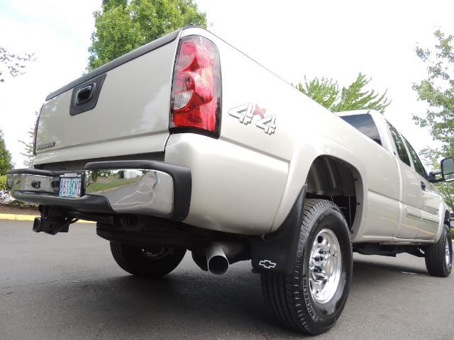 2006 Chevrolet Silverado 2500 LBZ 4X4 Long Bed 6.6L DURAMAX / Allison / 101K MLS - Photo 11 - Portland, OR 97217