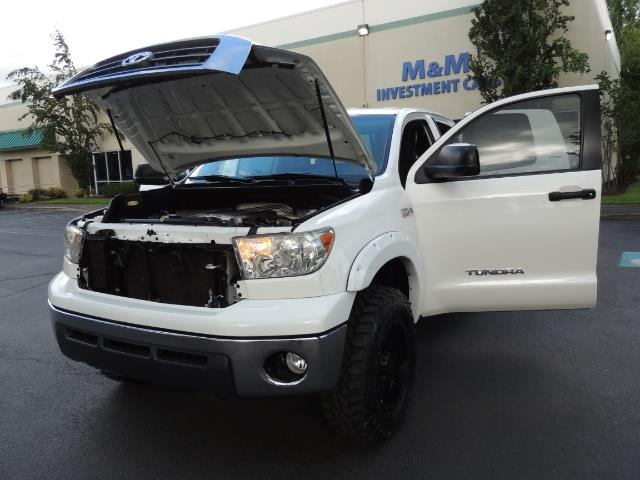 2008 toyota tundra 4x4 double cab trd off rd 73k miles lifted. Black Bedroom Furniture Sets. Home Design Ideas