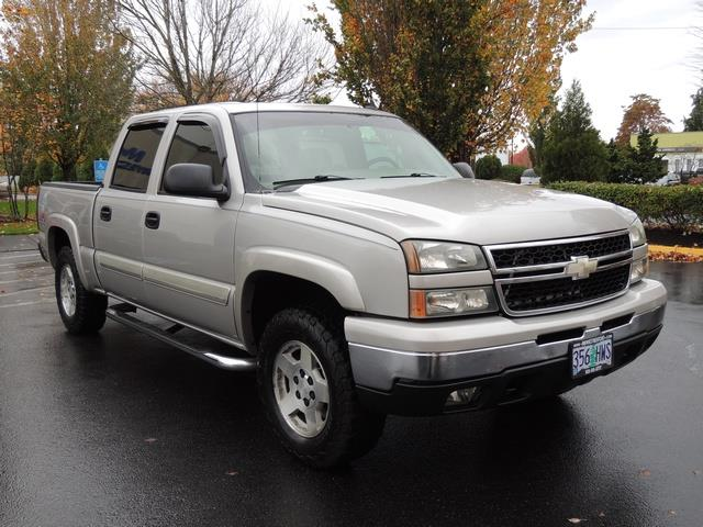 2006 chevrolet silverado 1500 lt crew cab 4x4 high. Black Bedroom Furniture Sets. Home Design Ideas