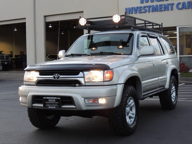 2001 toyota 4runner limited 4x4 leather heated seats lifted. Black Bedroom Furniture Sets. Home Design Ideas
