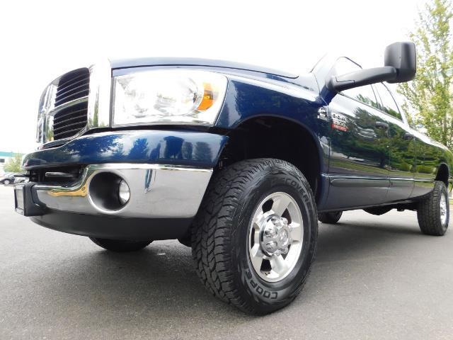 2007 Dodge Ram 2500 SLT BIG HORN EDITION / 4X4 / 5.9L DIESEL / 1-OWNER - Photo 9 - Portland, OR 97217