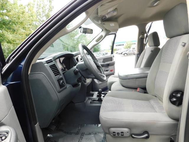 2007 Dodge Ram 2500 SLT BIG HORN EDITION / 4X4 / 5.9L DIESEL / 1-OWNER - Photo 14 - Portland, OR 97217