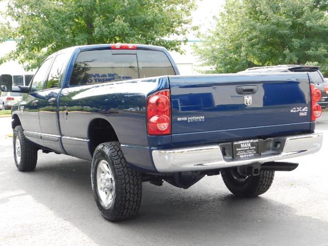 2007 Dodge Ram 2500 SLT BIG HORN EDITION / 4X4 / 5.9L DIESEL / 1-OWNER - Photo 8 - Portland, OR 97217