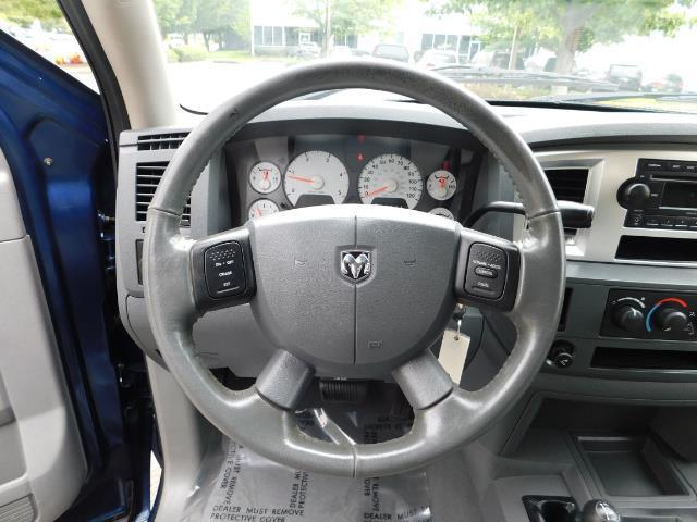 2007 Dodge Ram 2500 SLT BIG HORN EDITION / 4X4 / 5.9L DIESEL / 1-OWNER - Photo 19 - Portland, OR 97217