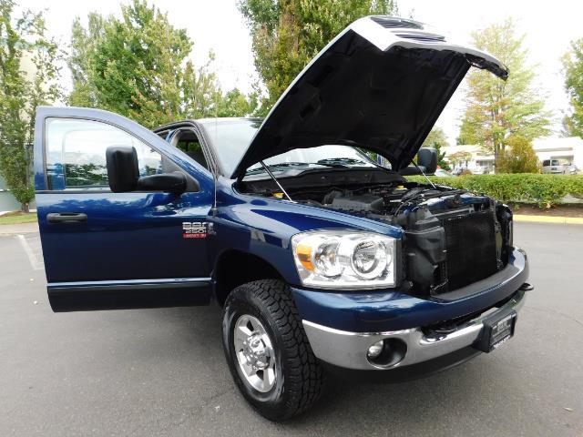 2007 Dodge Ram 2500 SLT BIG HORN EDITION / 4X4 / 5.9L DIESEL / 1-OWNER - Photo 30 - Portland, OR 97217