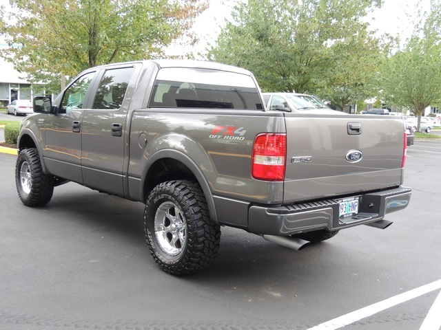 2006 ford f 150 fx4 off road 4x4 crew cab lifted lifted. Black Bedroom Furniture Sets. Home Design Ideas