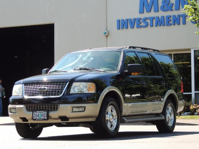 2006 Ford Expedition Eddie Bauer / Leather /Sunroof /DVD/Third Seat - Photo 1 - Portland, OR 97217