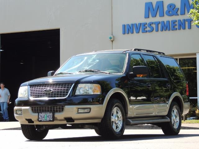 2006 Ford Expedition Eddie Bauer / Leather /Sunroof /DVD/Third Seat - Photo 40 - Portland, OR 97217