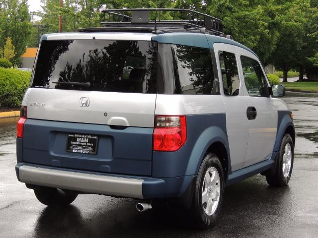 2005 Honda Element EX Sport Utility / ALL WHEEL DRIVE / SUN ROOF - Photo 8 - Portland, OR 97217