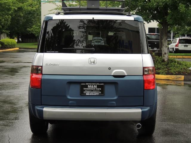 2005 Honda Element EX Sport Utility / ALL WHEEL DRIVE / SUN ROOF - Photo 6 - Portland, OR 97217