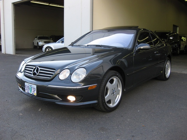 2002 mercedes benz cl55 amg sport coupe loaded for Mercedes benz cl55 amg price