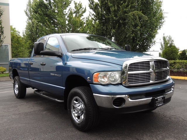 2004 dodge ram 2500 slt 4x4 5 9l diesel 6 speed 42k miles. Black Bedroom Furniture Sets. Home Design Ideas