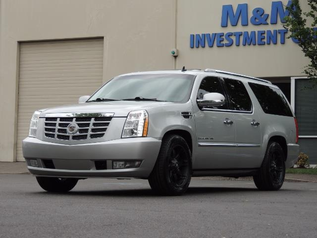 2010 Cadillac Escalade ESV Premium / AWD / DVD / Backup Camera / Excel Co - Photo 52 - Portland, OR 97217